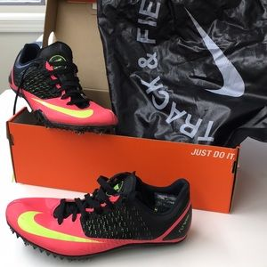 Nike Zoom Celar 5 track and field running shoes.